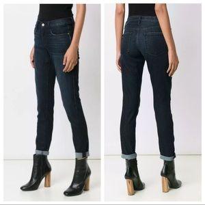 FRAME DENIM Le Garçon Slim Boyfriend Jeans